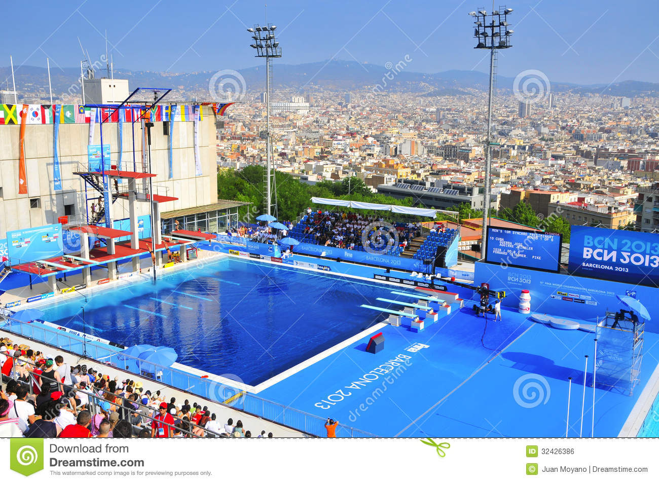 Piscina Municipal Montjuic 2013 World Aquatics Championships In Barcelona Spain