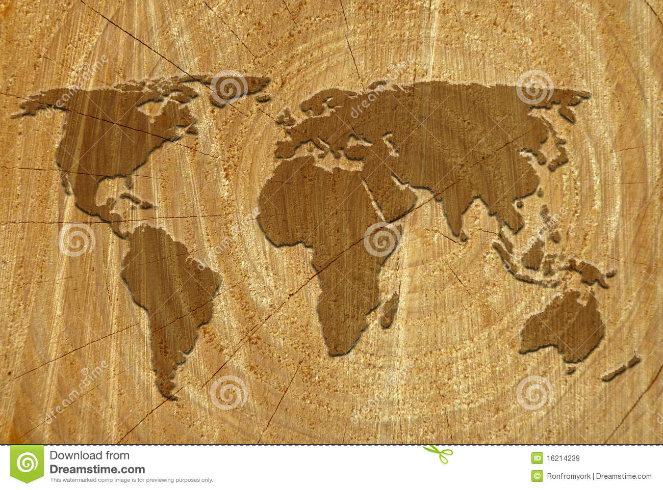 3d Animation Wallpaper Download World Map On Wood Surface Royalty Free Stock Images