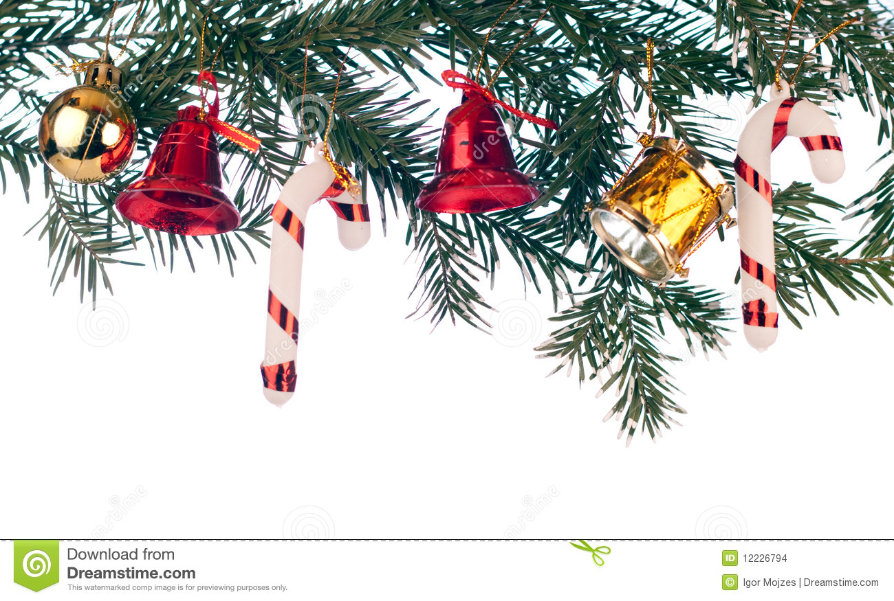 3d Wallpaper Red Blue Xmas Border Stock Images Image 12226794