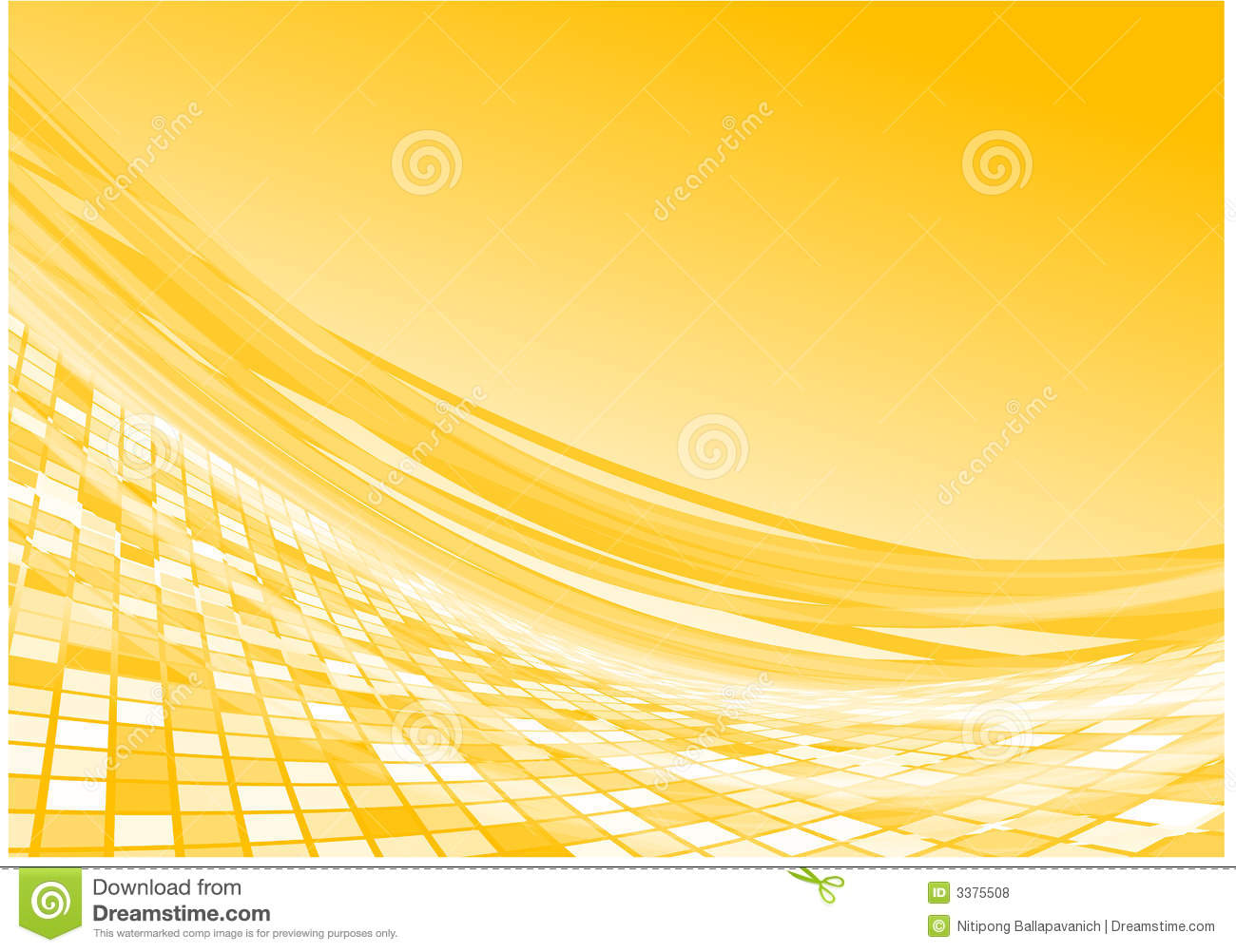Free Download Wallpaper 3d Graphic Yellow 3d Flow Vector Stock Vector Illustration Of Effect