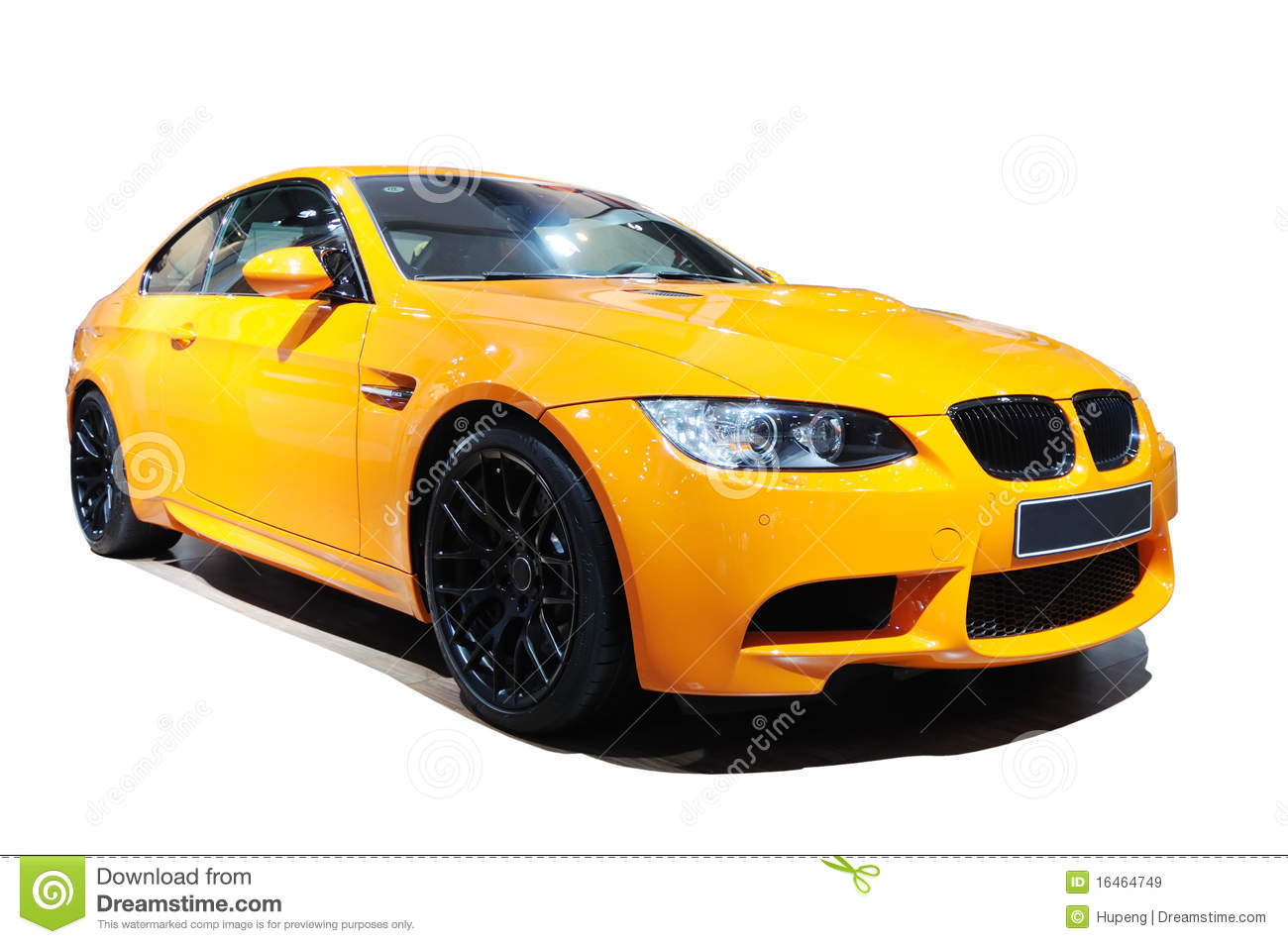 Audio Car Wallpaper Download Yellow Car Bmw M3 Tiger Edition Stock Image Image Of