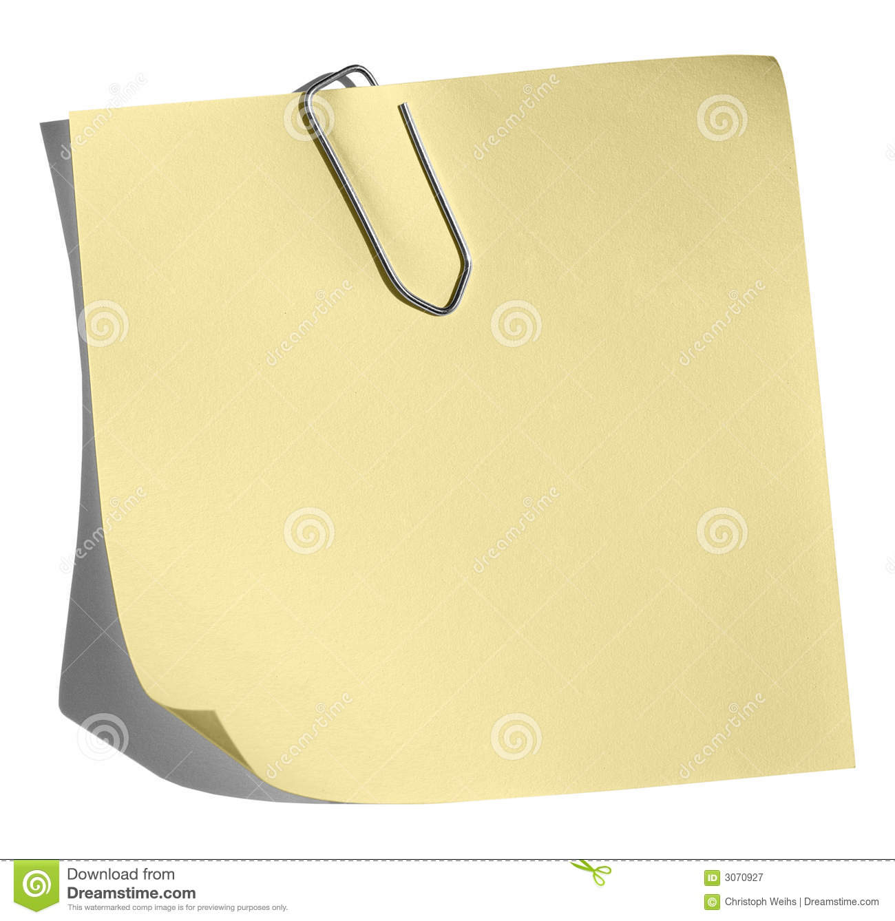 Business Plan Step By Step Planning Templates Entrepreneur Yellow Memo Paper Clip Royalty Free Stock Photography