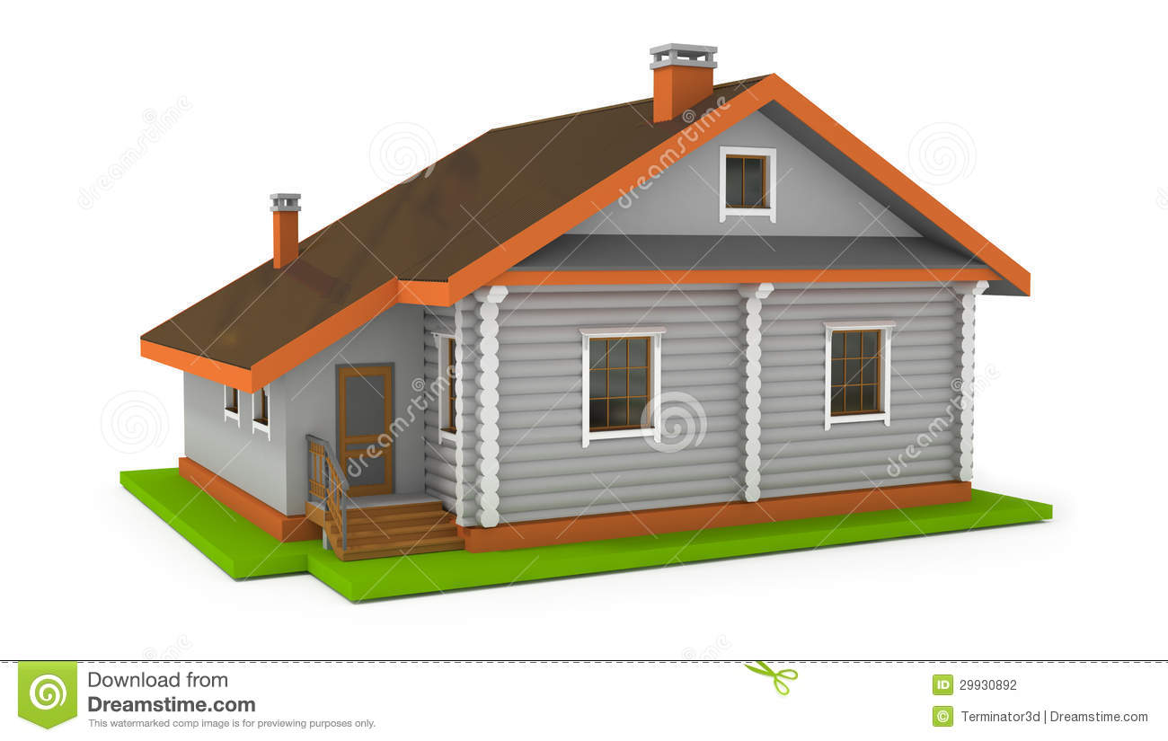 Simple House Image Simple House Stock Photography Image 29930892