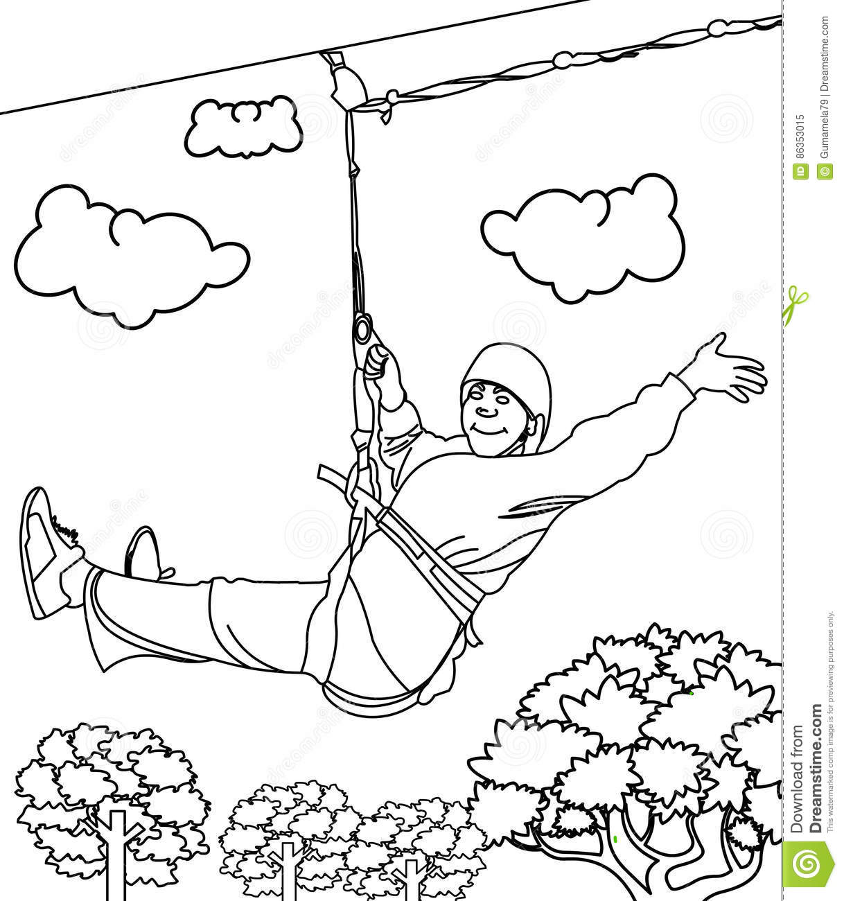 Line Art Zip : The gallery for gt zip line drawing