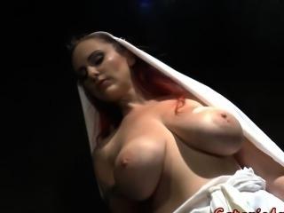 nun cross masturbating