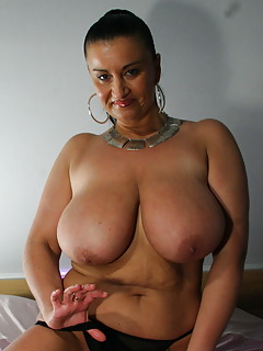 sucking moms tits