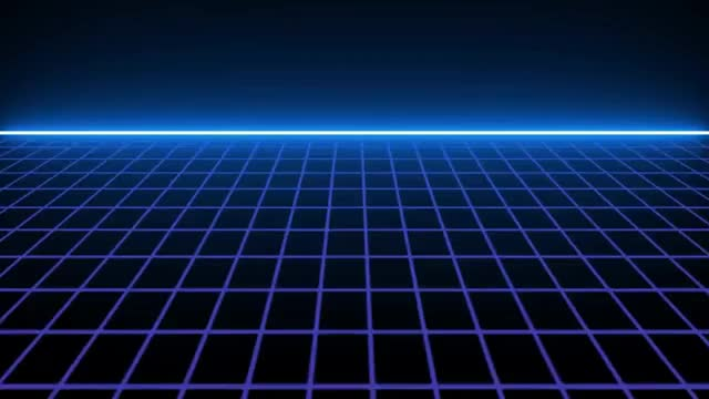 FREE DOWNLOAD  SCROOLING 80\u0027S SCIFI GRID FREE TEMPLATE - NO