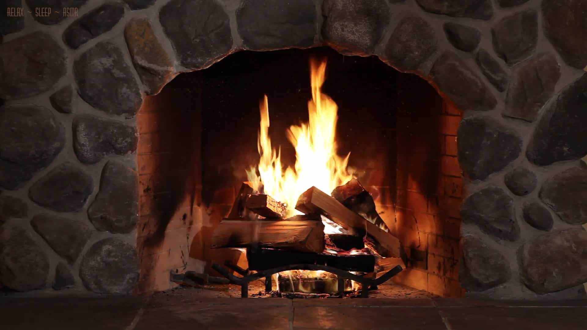 Fireplace Sounds Tv Fireplace With Relaxing Crackling Sounds Of Wood Burning 10 Hours High Definition Audio