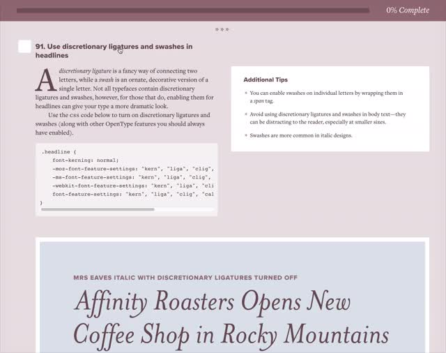 Font Recommendations\u2014Top 10 Most Popular Fonts Lists for 2019 · Typewolf