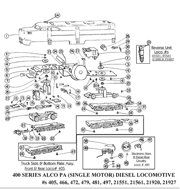 american flyer pa wiring diagram