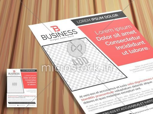 Professional stylish One Page, Business Flyer, Banner or Pamphlet