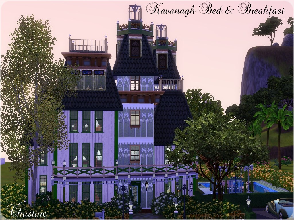 Bed And Breakfast Alcester Mod The Sims Kavanagh Bed And Breakfast No Custom Content