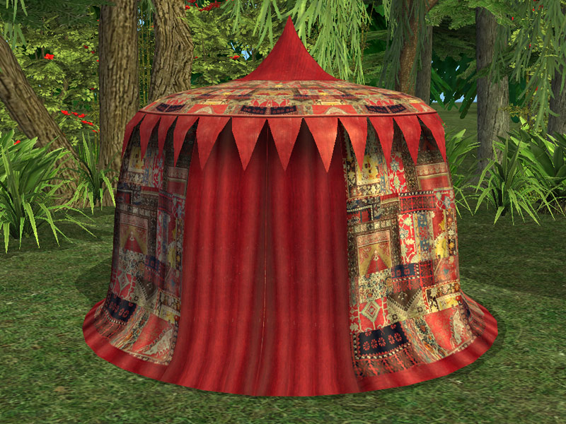 Build A Gaming Room Mod The Sims - Medieval Traveler's Tents