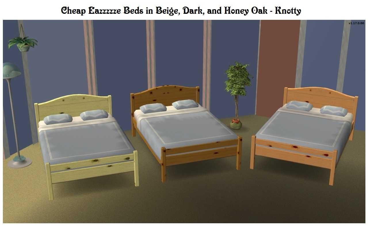 Billiges Bett Mod The Sims Ea Cheap Bed Recolour Fix