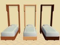 Mod The Sims - Murphy Single and Toddler Beds