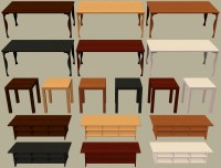 Mod The Sims - 10 Ikea Furniture Items Recoloured