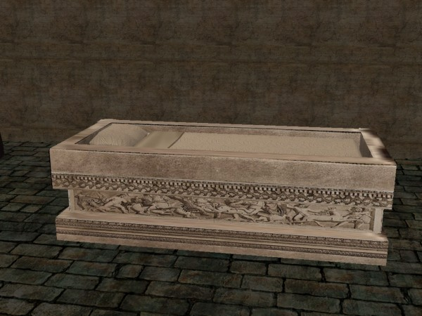 Sofas Buy Best Mod The Sims - Ancient Roman Sarcophagus Single Bed *re