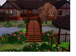 Soothing X Mod Sims Japanese Home Japanese House Interior Design Japanese House Called