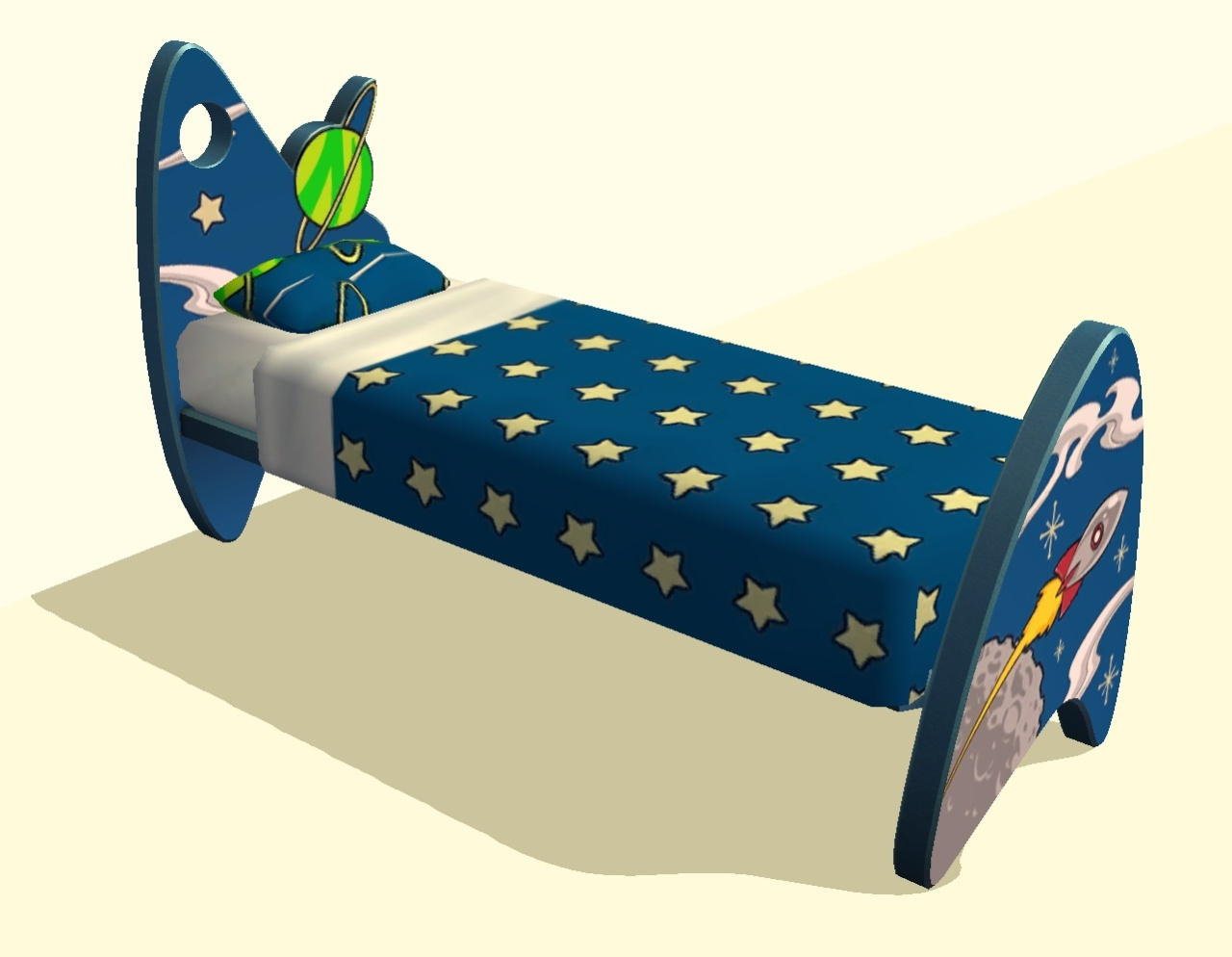 3 Twin Beds In The Space Of 1 Mod The Sims Matching Space Bedding For Children 39s Space