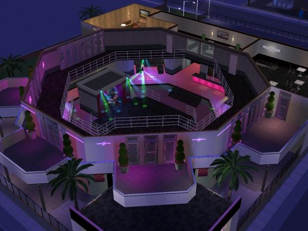 3d City Live Wallpaper Mod The Sims The Malibu Club