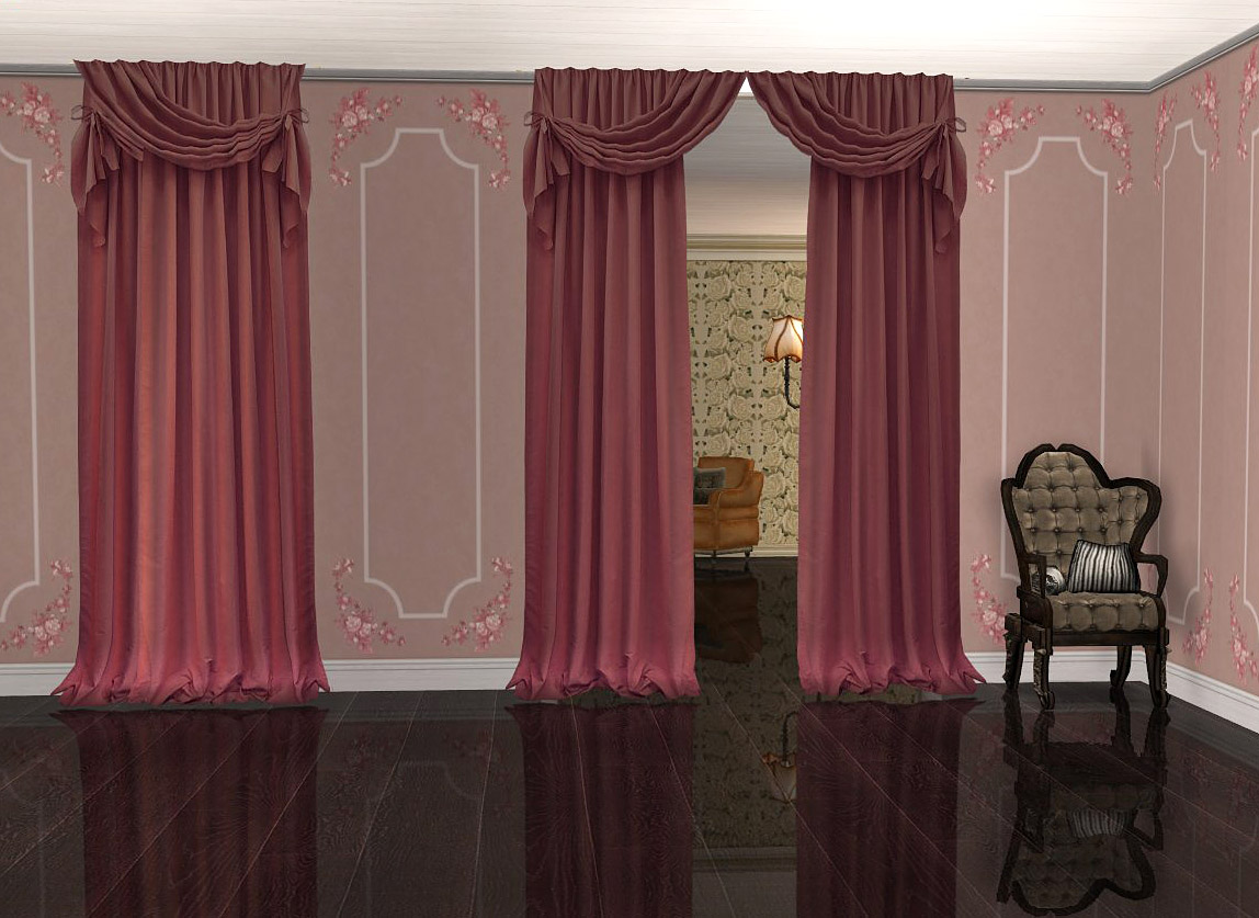 Fullsize Of Sims 4 Curtains