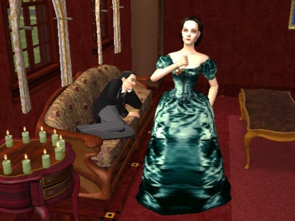 Build A Gaming Room Mod The Sims - Gone With The Wind (vivien Leigh,clark Gable)