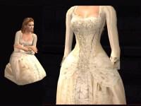 Mod The Sims - POTC2: Elizabeth Swann's Wedding Gown