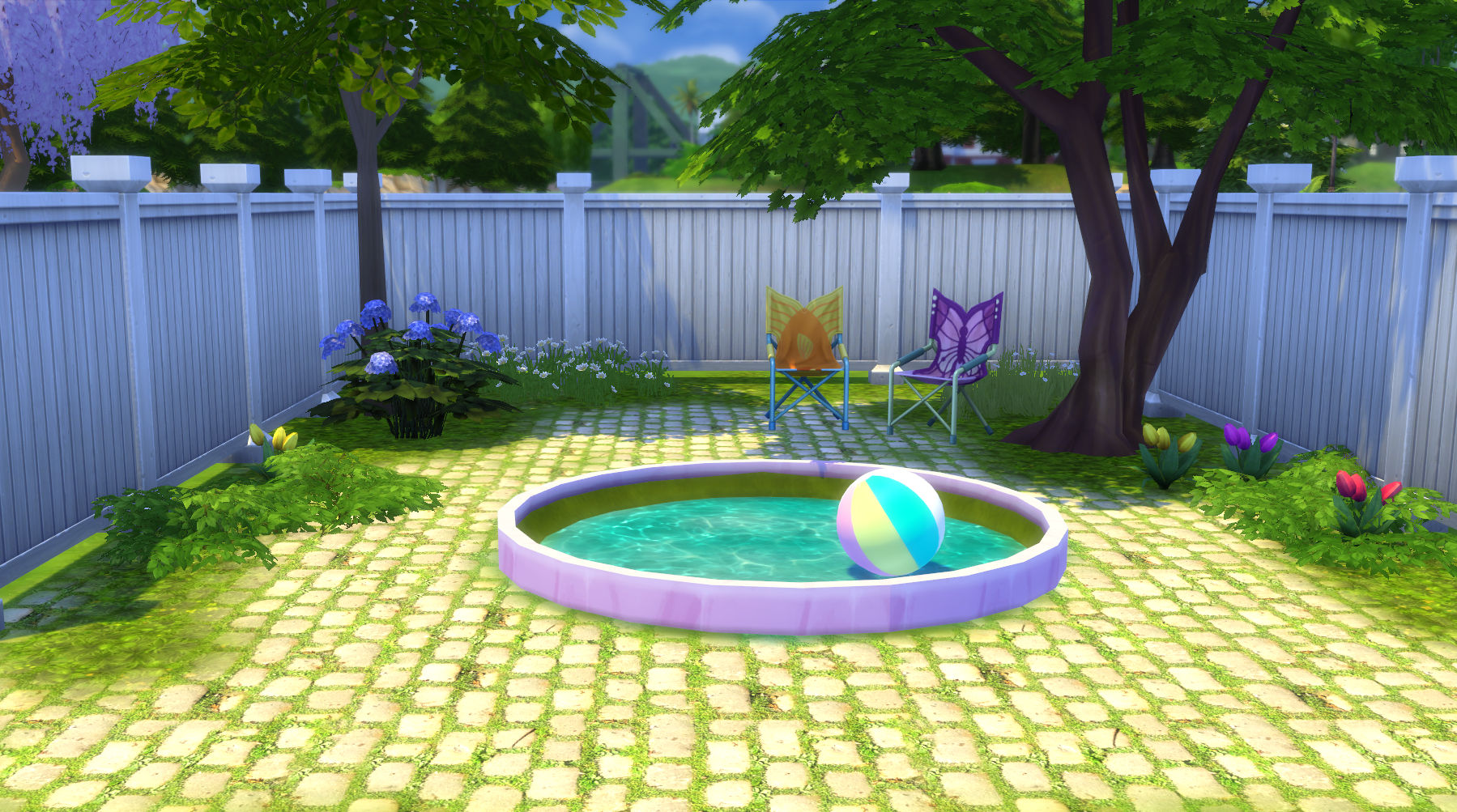 Pool Bauen Sims 3 Mod The Sims On The Curve Circular And Oval Flowerbeds