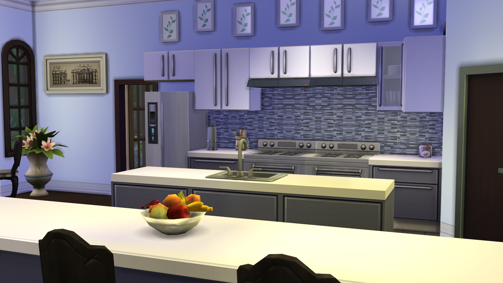 Mod The Sims Modern Kitchen Backsplashes 4 Cc