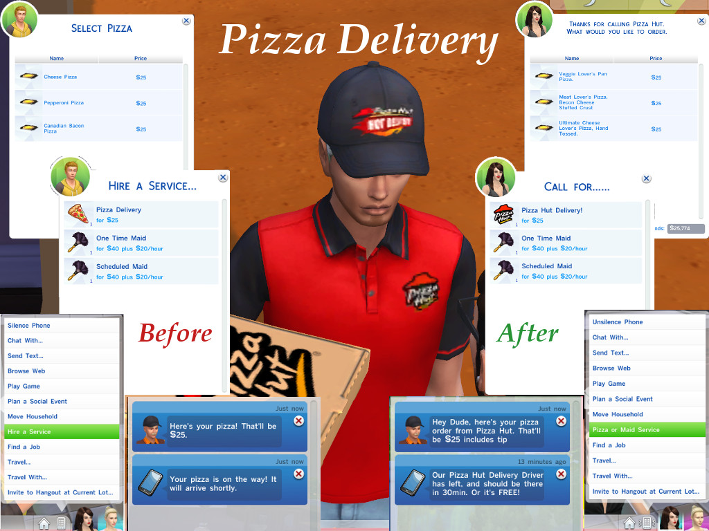 Fall Themed Wallpaper Iphone Mod The Sims The Pizza Posse Mod