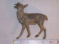 Antique/Vintage Cast Metal Hollow Ware Deer Stag Buck ...