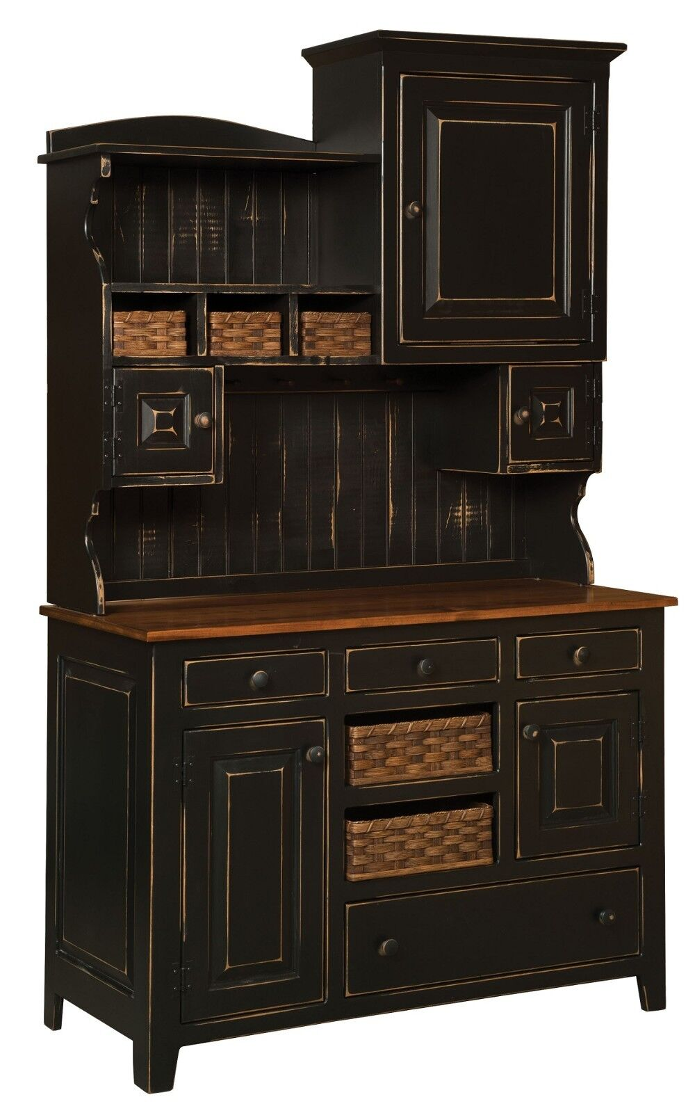 amish country kitchen hutch farm house pantry cupboard wood primitive amish kitchen cabinets creation amish kitchen cabinets