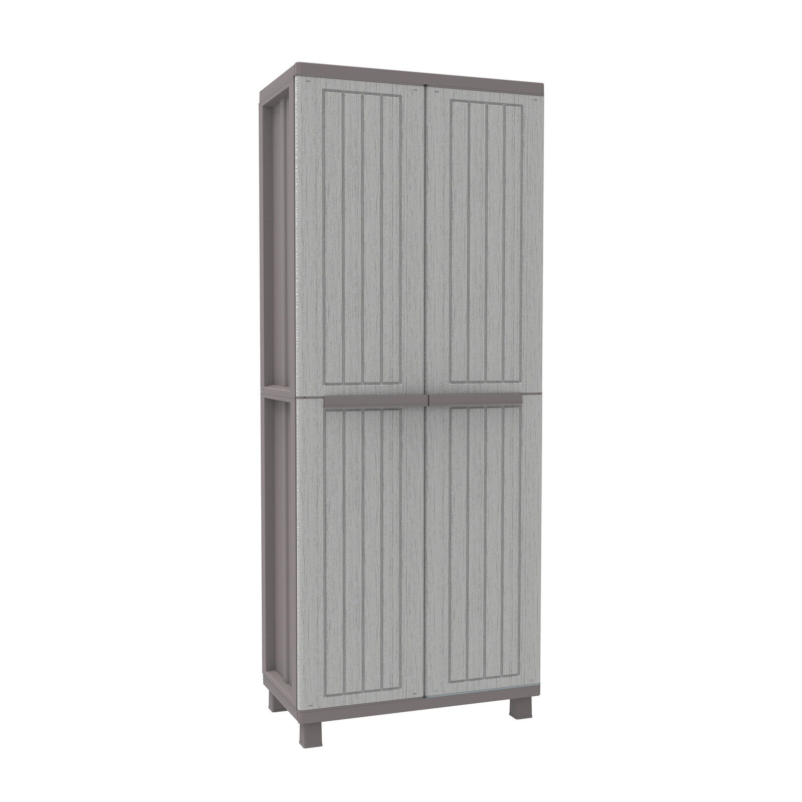 Plastic Storage Cupboard Wood Effect Plastic Garden Storage Cupboard Indoor Or