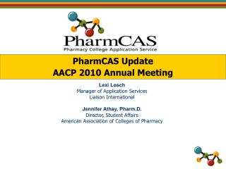 PPT - PharmCAS Contact Information PowerPoint Presentation - ID:234448
