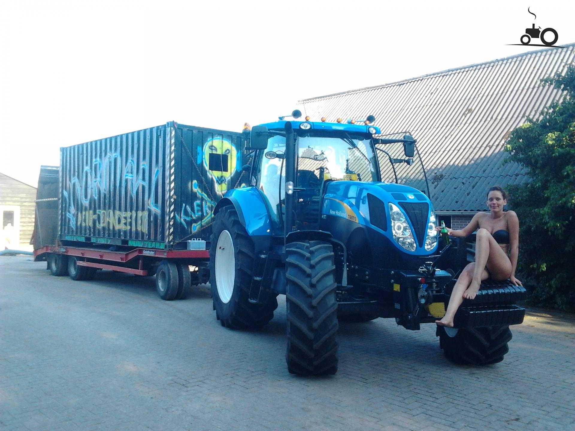 Garyp Zwembad Foto New Holland Lady 774086