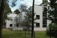Meisterhuser in Dessau (Architekt: Walter Gropius). Bild ...