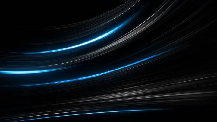 Blue And Black Shade Background Wallpaper