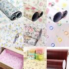 Flower Self Adhesive Contact Paper Shelf Drawer Liner Wall Sticker Mural Decal