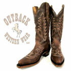 Boulet Women's Snip Toe Selvaggio Wood Boots 1692