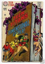 Teen Titans DC Very Good Fine Condition Ic Of