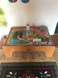 ELC Early Learning Centre Big City Wooden Railway Train ...