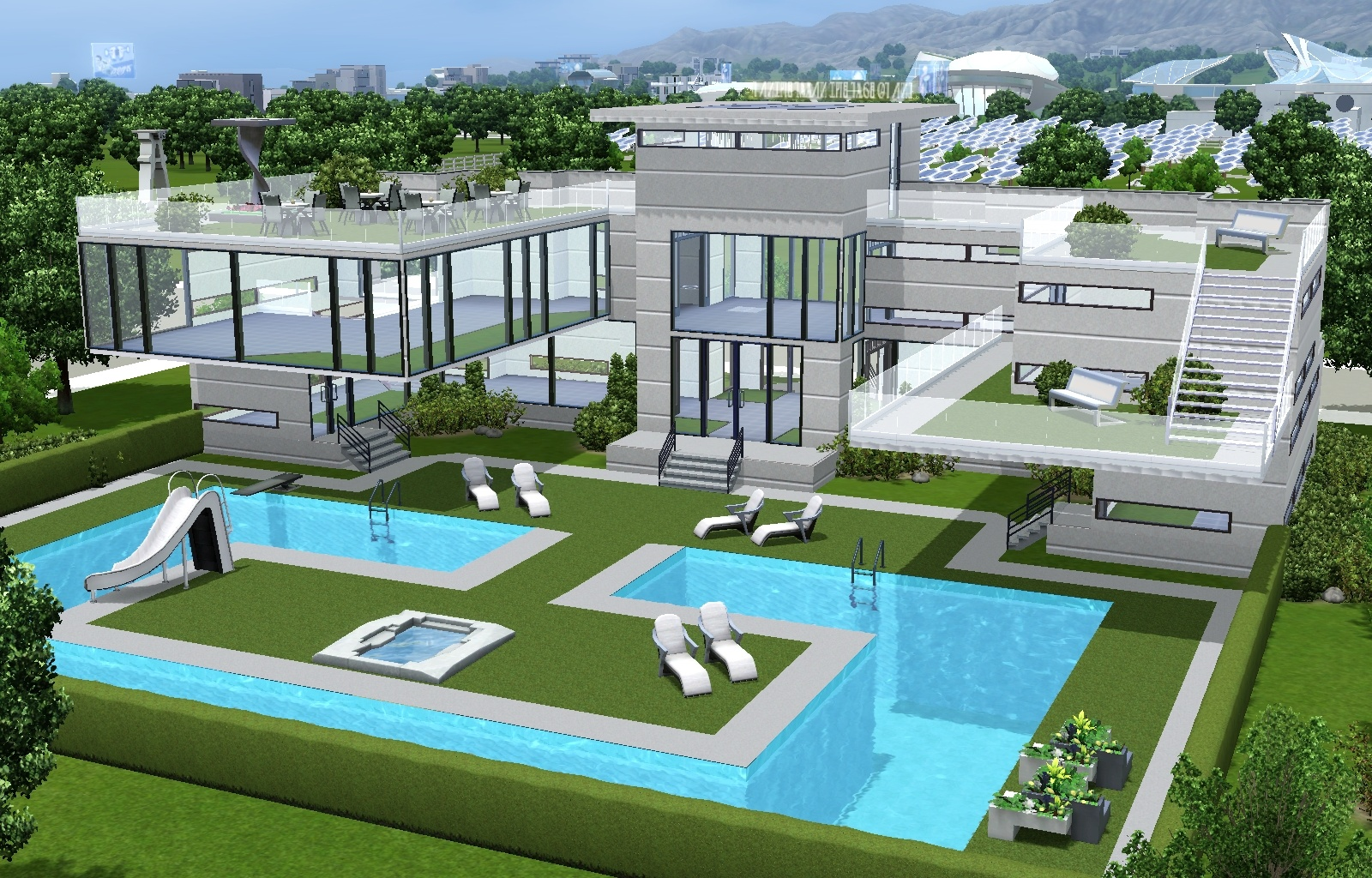 Pool Bauen Sims 4 Must Have Gorgeous Sims 3 Houses And Villas Sims 3 Mod