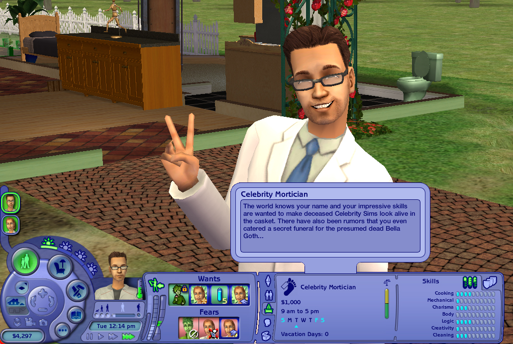 Mod The Sims - Mortician Career