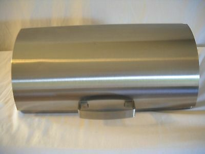 Vintage Ikea Stainless Steel Kitchen Bread Box 15quotx75quotx9