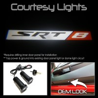 LED Courtesy Lamps Ghost Shadow Lights Door Projectors ...
