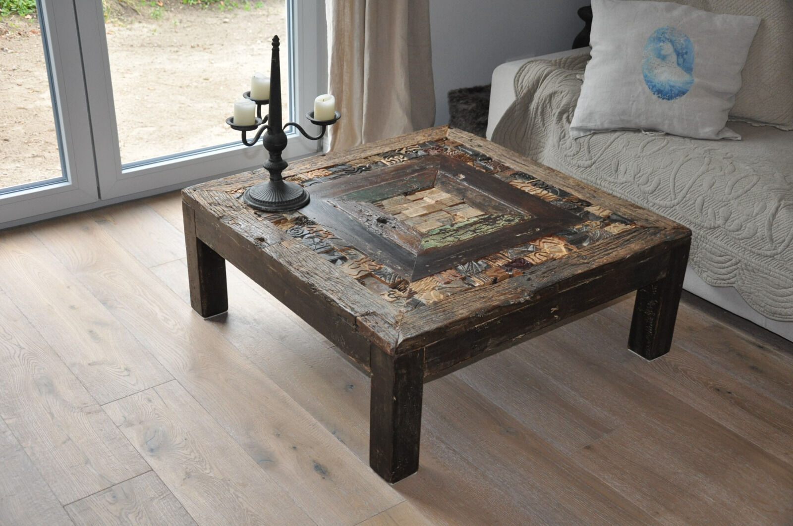 Recycling Couchtisch Traumhafter Couchtisch Orient Recycling Holz Massiv