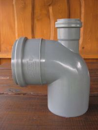 110mm Soil Pipe Elbow Bend 90 Single Socket with 50 mm ...