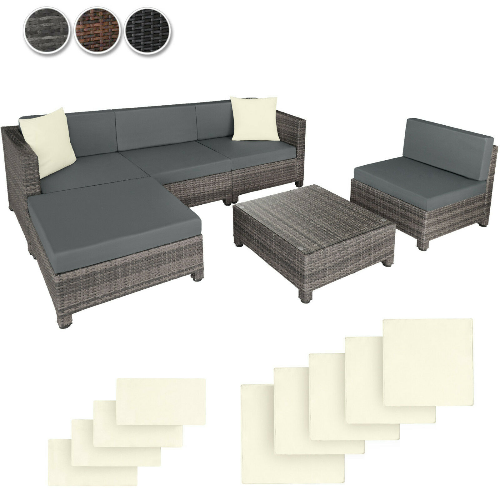 Gartenmöbel Sofa Rattan Sofa B And M