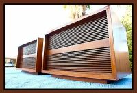 Mid Century Speaker Cabinets Vintage Tannoy? End Table ...