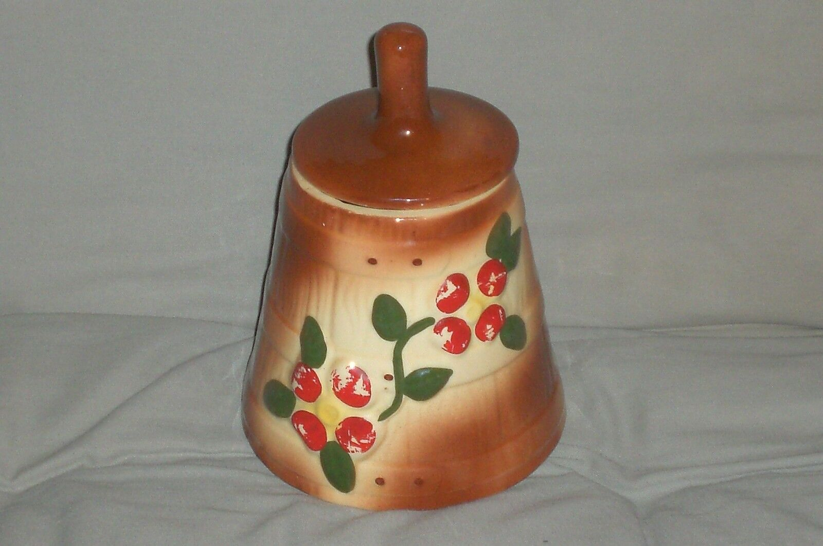Nice Cookie Jars Very Nice Vintage American Bisque Barrel Churn Cookie Jar